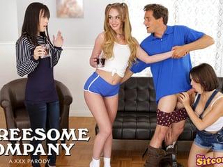 Threesome Company Lovers And Friends - Alana Cruise,Daisy Stone,Krissy Lynn