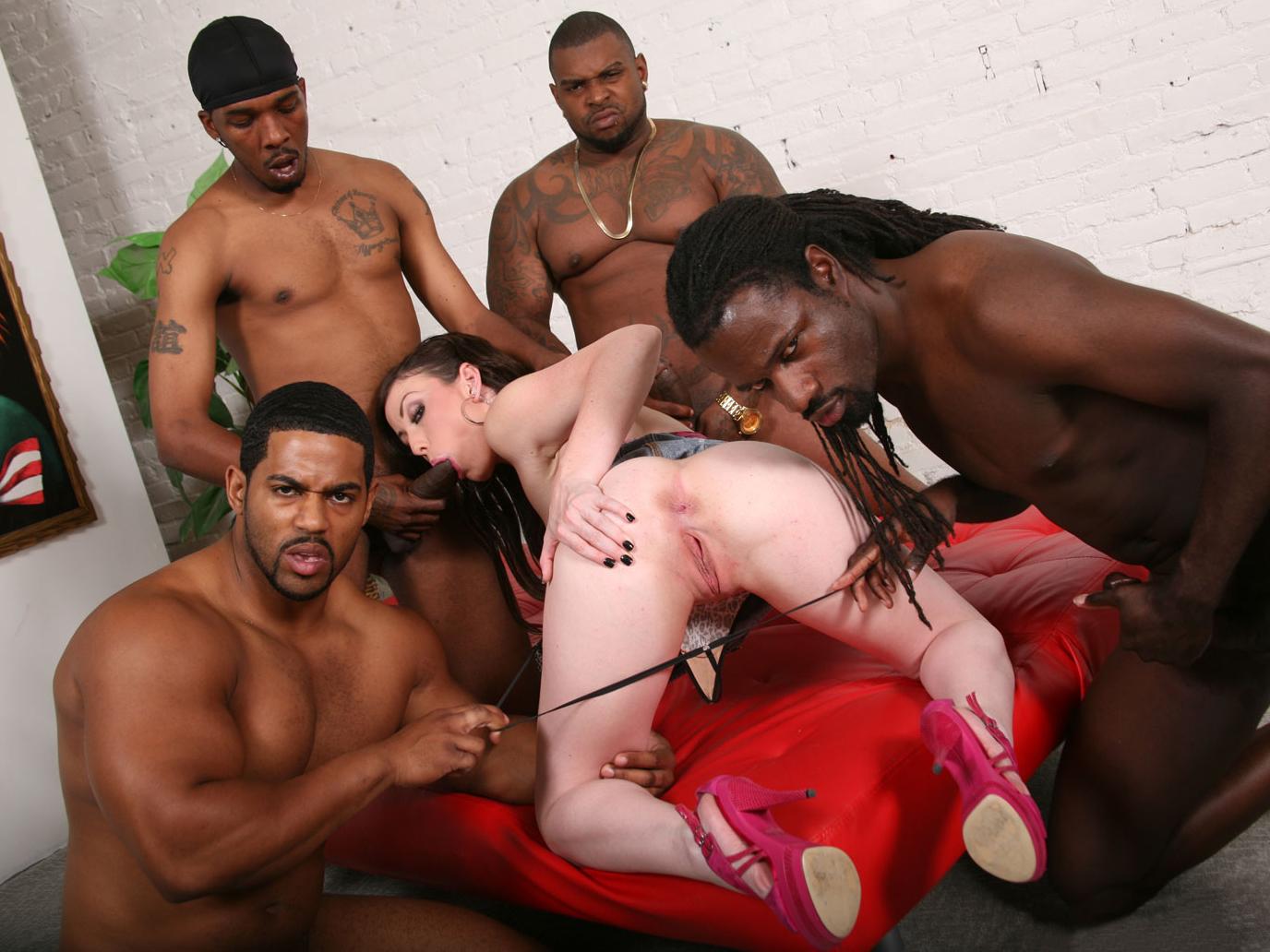 Jennifer White Black Gangbang