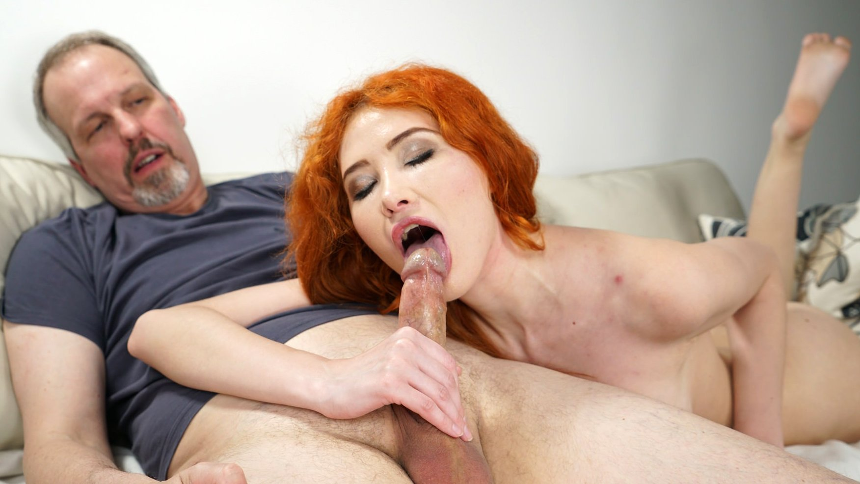 Dirty redhead babe enjoys sex tnaflix porn pics