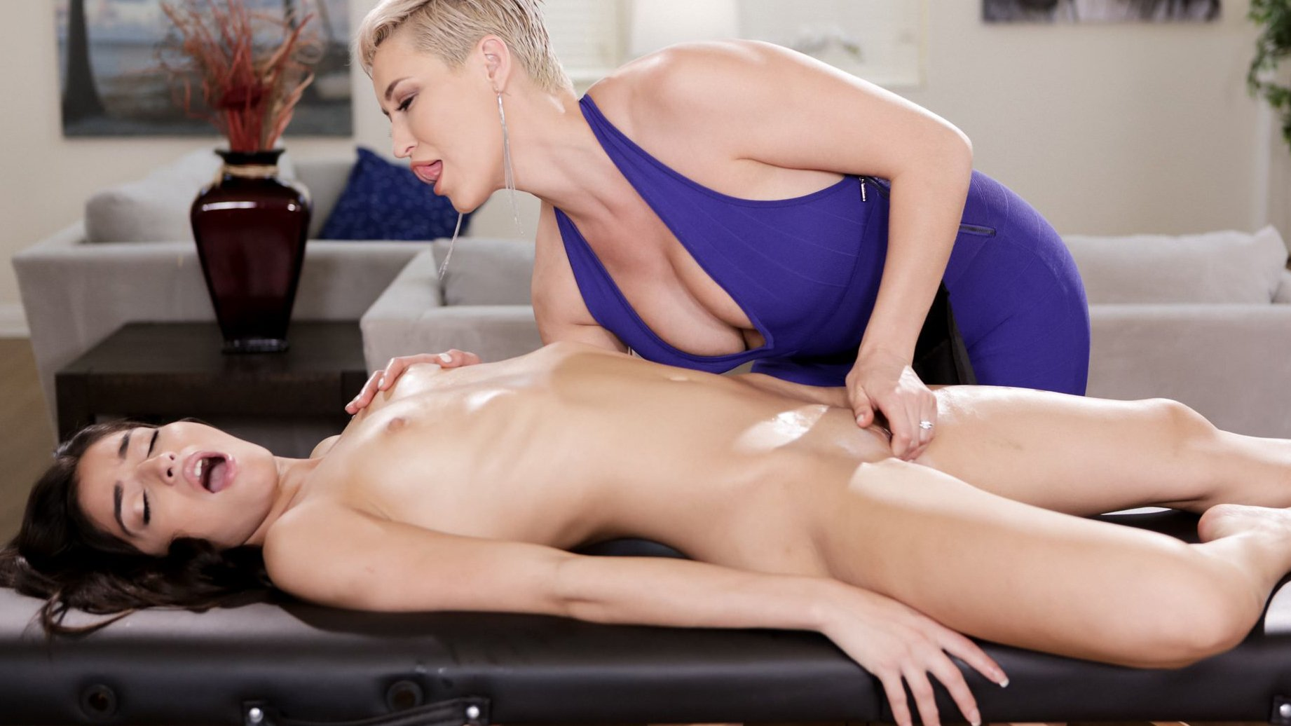 Schritt Tochter Nuru Massage