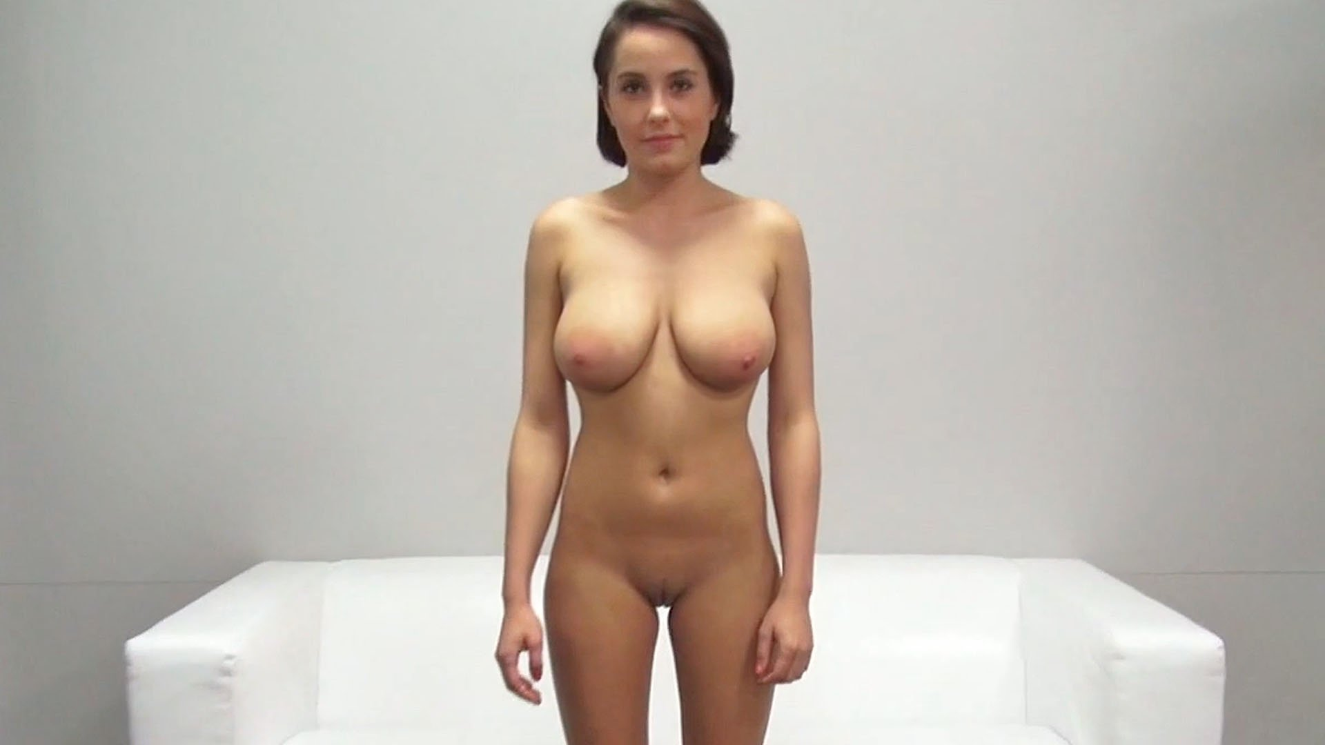 Big Natural Tits Sports Bra